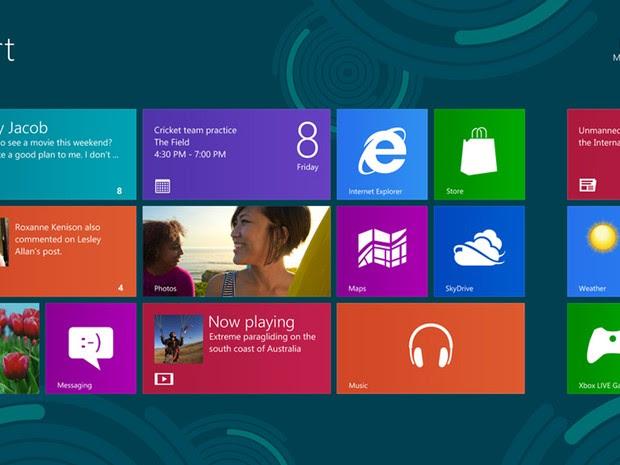 Windows 8 pode ganhar update no ano que vem (Foto: Divulgação) (Foto: Windows 8 pode ganhar update no ano que vem (Foto: Divulgação))