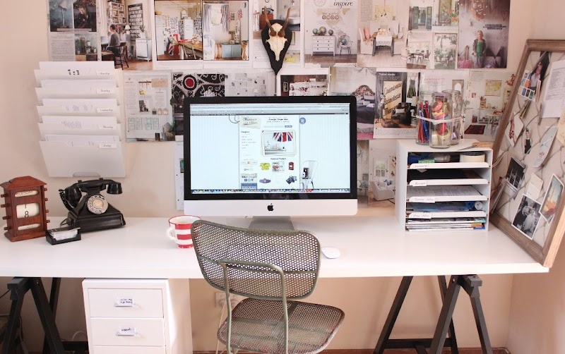 Beautiful Small Executive Office Interior Design Photos
