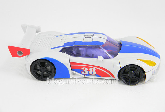 Transformers Smokescreen Deluxe - Transformers Prime Beast Hunters - modo alterno