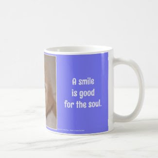 A Smile is Good for the Soul...Smiling Golden Pup Mugs