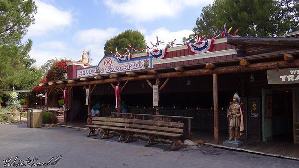 Disneyland Resort, Disneyland, Frontierland, Shootin' Gallery