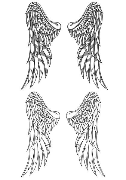 Tattoos Wings on Wings Tattoo   Stock Vektorgrafik    Surya Ali Zaidan  7683831