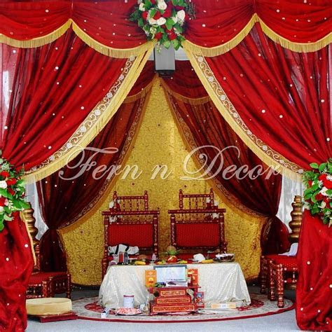 Indian Wedding Decorations by Fern 'n' Decor. Located in