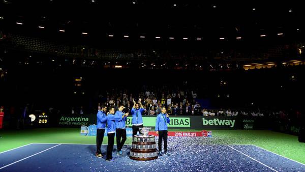 Argentina se consagró campeón de la Copa Davis en Zagreb, Croacia. (Germán García Adrasti)