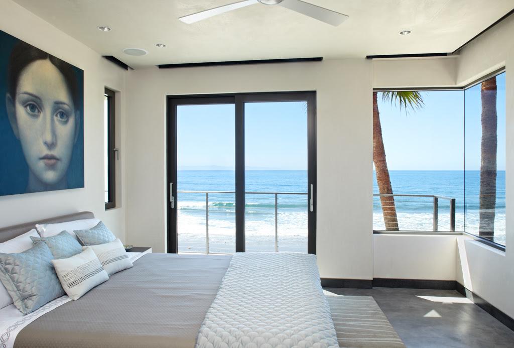 Ocean  view  bedroom Interior Design  Ideas