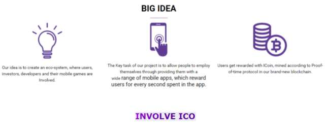 INVOLVE-ICO INFORMATION !!!