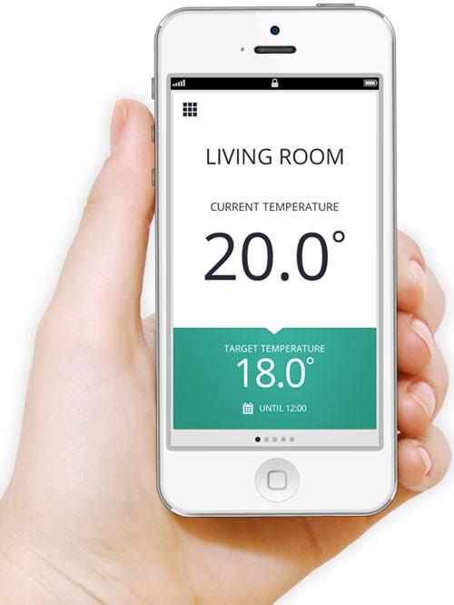 Honeywell evohome iPhone App