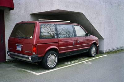 parcheggio, auto