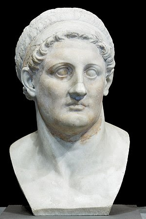 Bust of Ptolemy I Soter, king of Egypt (305 BC...