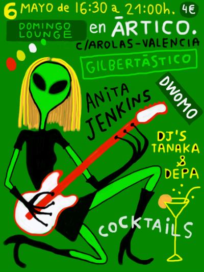 Anita Jenkins- Flyer by calpurnio