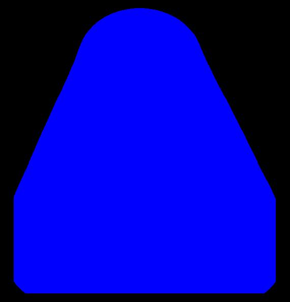 Blue Triangle Clip Art at Clker.com - vector clip art ...