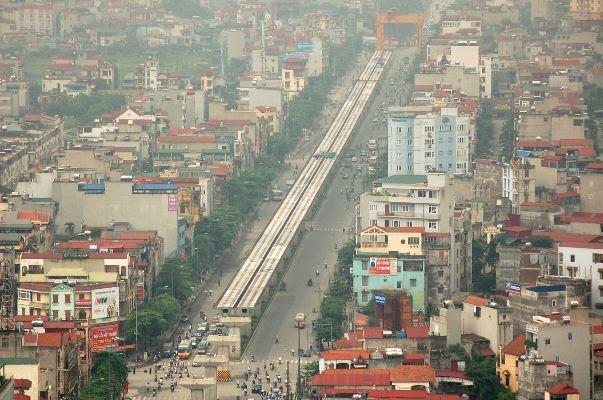 Nhà đất phía Đông Hà Nội có tăng giá nhờ đường sắt trên cao?