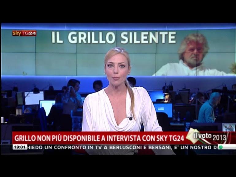 Beppe Grillo, le domande di Sky a cui non ha voluto rispondere