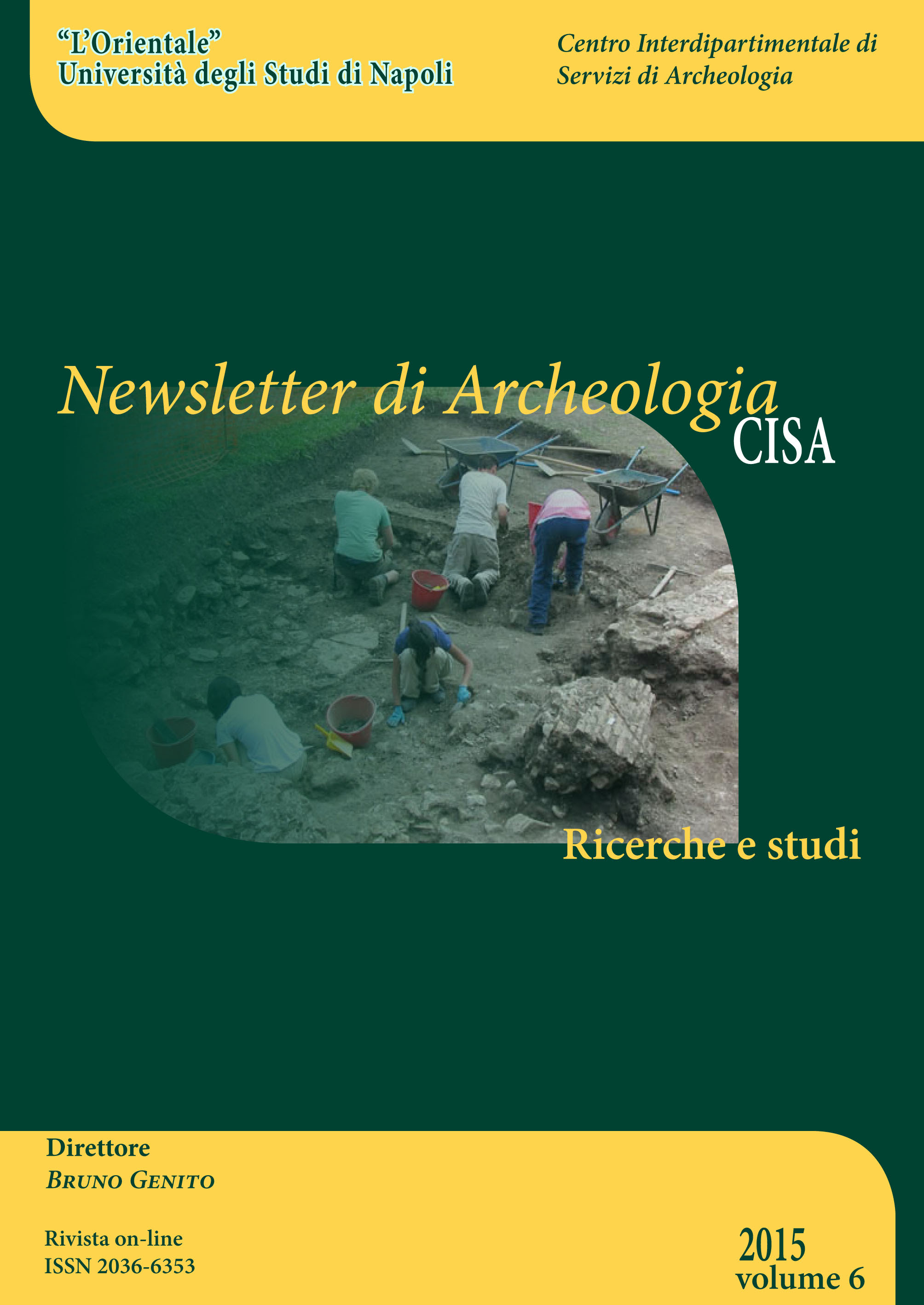 Newsletter Archeologia CISA 2015 edition