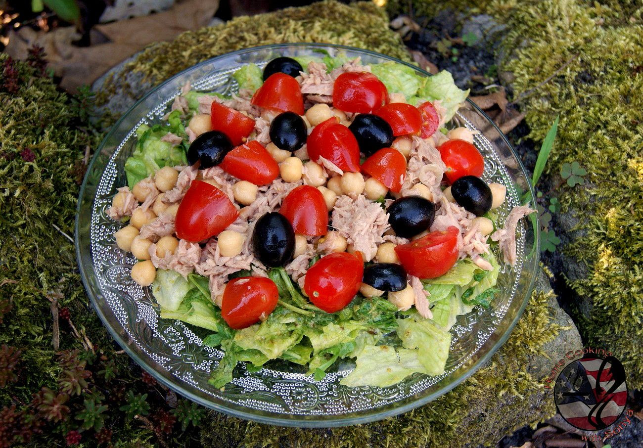20.6, Mediterranean Tuna Salad..perfect for a hot summers day!