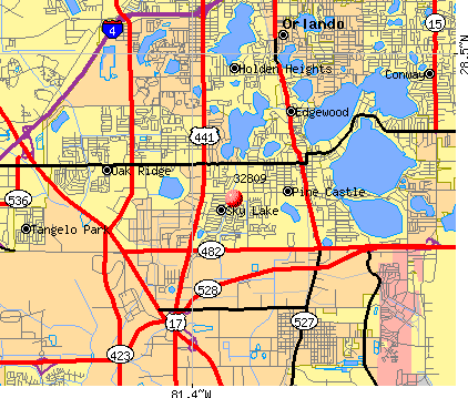 zip code map for orlando fl Zip Code Map Of Central Florida Claudetemaki zip code map for orlando fl