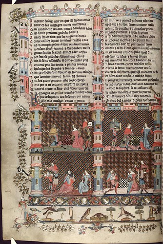The Romance of Alexander 127v MS. Bodl. 264