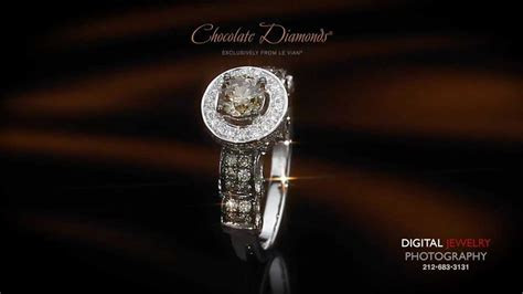 Le Vian® Chocolate Diamonds® Wedding Ring Set   YouTube