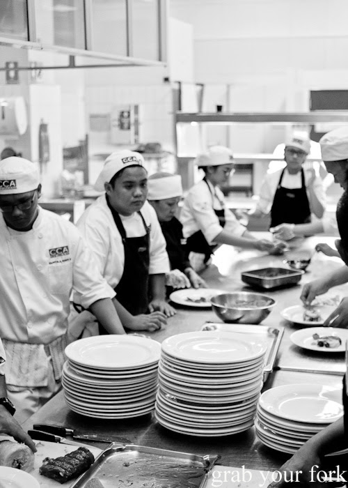 CCA Manila chefs behind the scenes at the Filipino Barbie