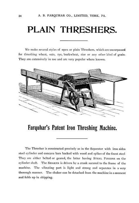Farm Collector Magazine - 1899 ENGINES, THRESHING MACHINES