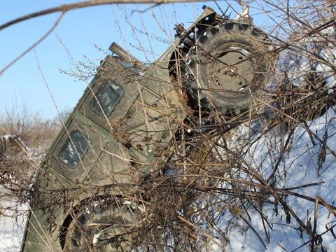 Russian self-made Hummer 11