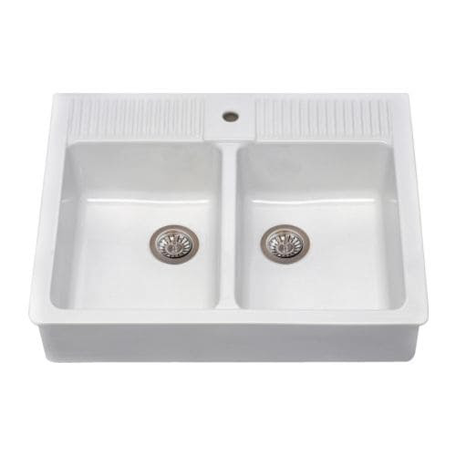DOMSJÖ Double bowl IKEA