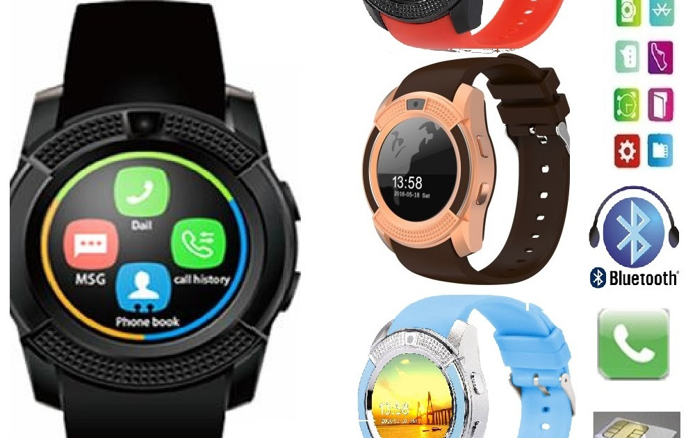 Watch v8 manual smart - SWaP smart Watch and Phone User