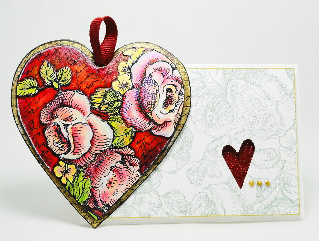 Heart and Card 2