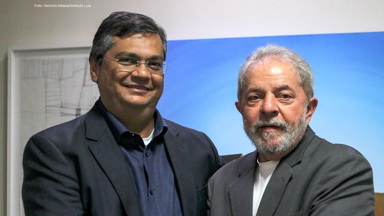 Resultado de imagem para FOTOS IMAGENS DE LULA E FLAVIO DINO