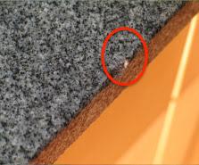 Super Boden ausgleichen mit Schüttung: Granit reparatur FF27