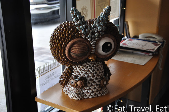 Sesame Grill Owl
