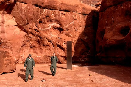 TREND ESSENCE:That Mysterious Monolith in the Utah Desert? It's Gone, Officials Say