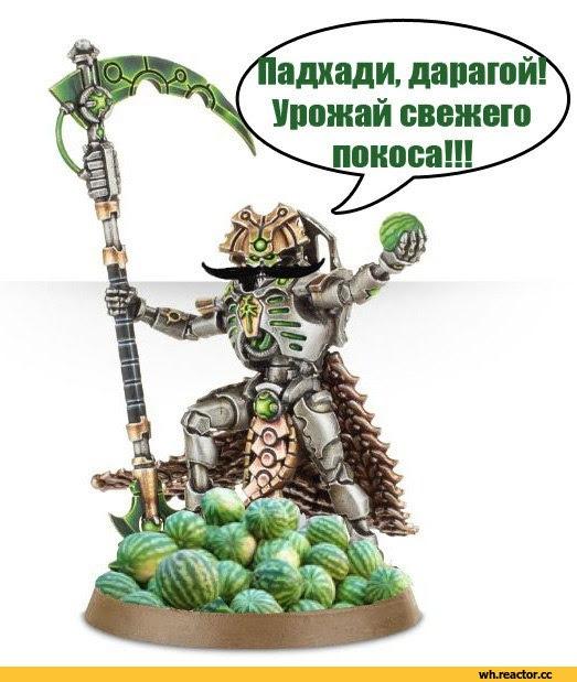 Warhammer 40000,warhammer40000, warhammer40k, warhammer 40k, ваха, сорокотысячник,Wh Песочница,фэндомы,Miniatures (Wh 40000),Necrons,wh юмор