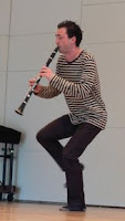 Jean-Francois Charles dance clarinet may 2007