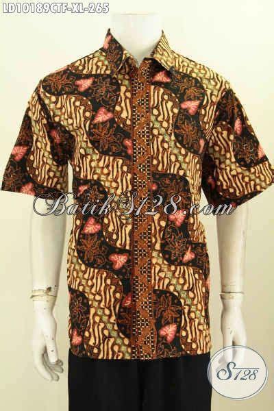 model baju batik hem pria dewasa pakaian batik elegan