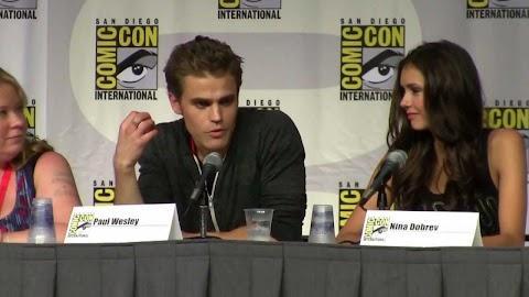 Comic Con 2010 Vampire Diaries