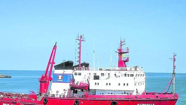 Patrullaje. El TUMCHA, una de las naves rusas que compraría la Armada.