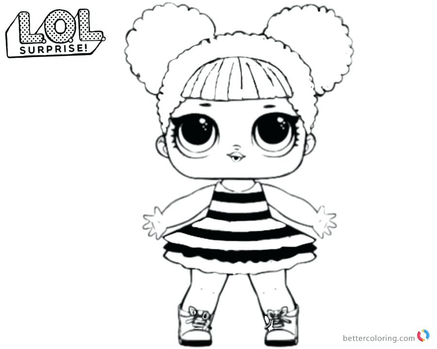 Lol Surprise Doll Coloring Pages At Getcolorings Com Free