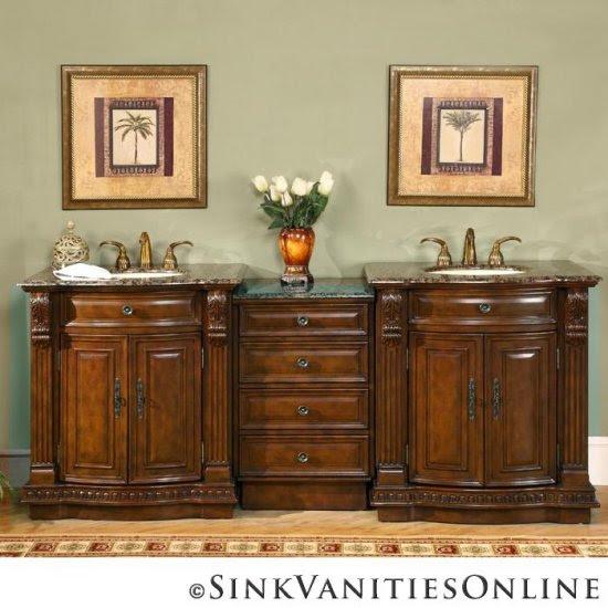 San Jose Kitchen Cabinets: Slab Granite Countertops: Granite Bathroom Vanity