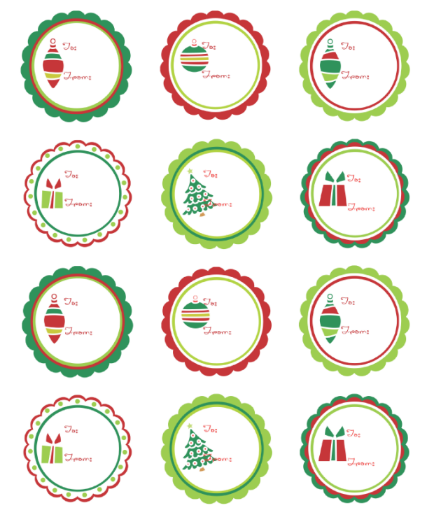 Christmas Labels Ready to Print!   Worldlabel Blog