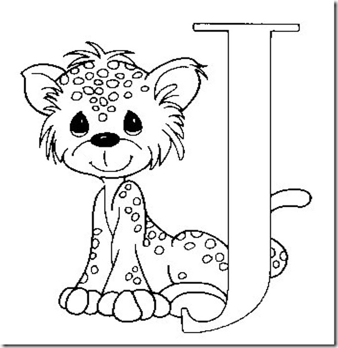 Letras Infantiles Para Pintar Az Dibujos Para Colorear