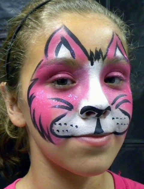 çocuklar Için Pratik Ve Eğlenceli Yüz Boyama Modelleri