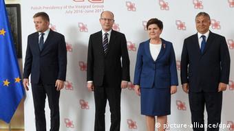Polen - Treffen der Visgard-Gruppe in Warschau