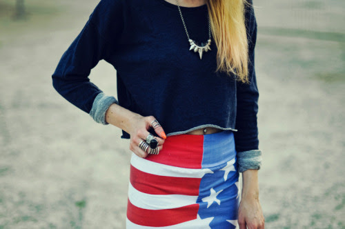 We're loving how blogger Alice Point has styled our Stars and Stripes skirt in her latest post.