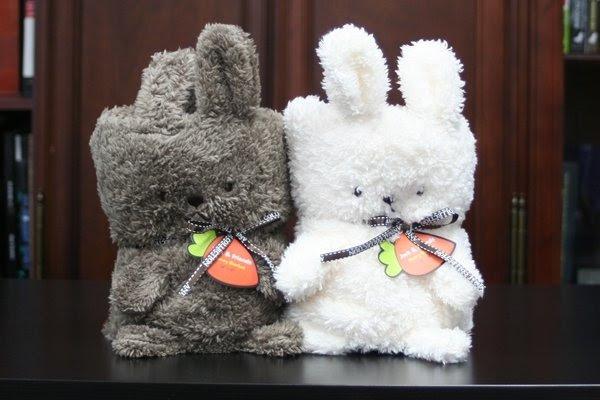 Jack & Friends Cuddly Blanket - Bunny