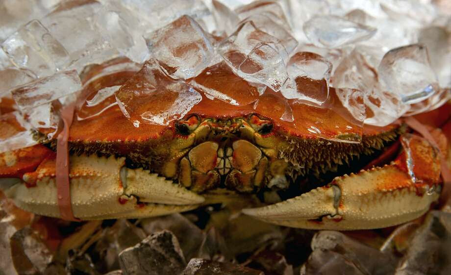 Crab lovers have had to resort to imported crustaceans since a neurotoxin forced the local crabbing season to be postponed. Photo: Michael Macor, The Chronicle
