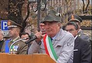 La lettera di Gentilini esalta il ruolo delle forze armate in pace e in guerra (archivio)