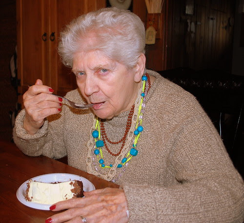 Nana cake fork