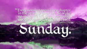 Sunday Good Morning Photo Pics Free Download
