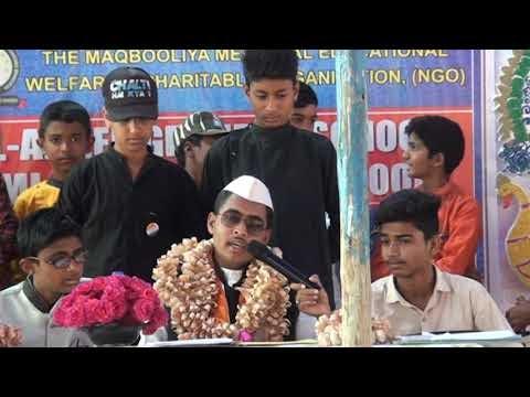 Hangal ke Neeta Ji Press Conference me Drama by AL-Ameen School Hangal